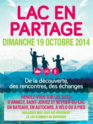 <Image of 'Lac en Partage' Annecy 2014 brochure>